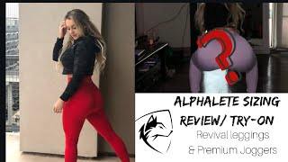 Alphalete Review/ Sizing / Try- On 🐺