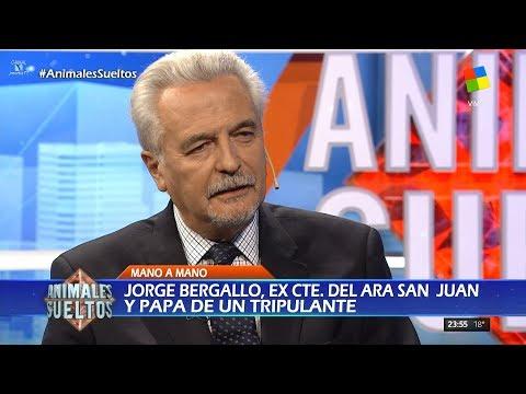 J.Bergallo padre del Subcomandante del ARA San Juan, en