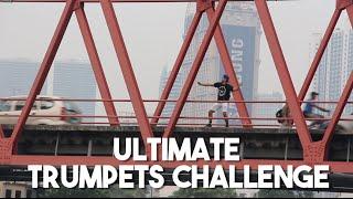 Trumpets Challenge (INSANE DANCE ACROSS MANILA) 9 MB