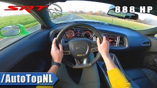 888HP DODGE HELLCAT XR | 6.2 V8 SUPERCHARGED | POV Test Drive by AutoTopNL