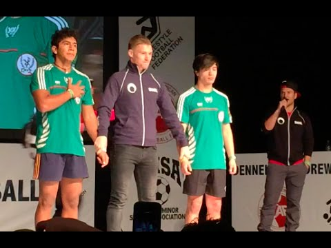 2014 North American Freestyle Soccer Championship video