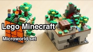 Lego Minecraft Micro World (21102) 3: Overview