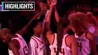 Highlights: Virginia at Rutgers | B1G Women's Basketball | Dec. 5, 2019