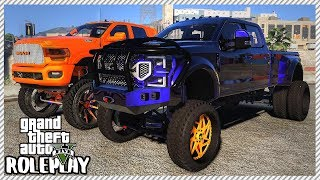GTA 5 Roleplay - Taking Lifted 'SEMA' Truck to Car Meet | RedlineRP #429