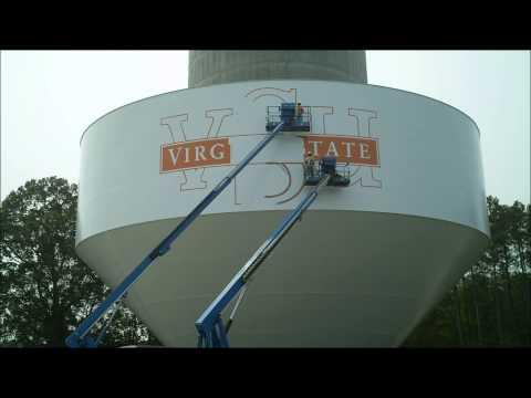 VSU Randolph Farm/Chesterfield Water Tank Construction