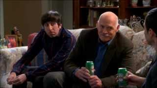 Sheldon & Bernadette's Father Have a Beer (TBBT: 7X09 The Thanksgiving Decoupling)