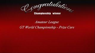 Gran Turismo 3 - Amateur League - GT World Championship Prize Cars