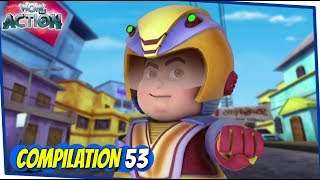 Vir The Robot Boy | Animated Series For Kids | Compilation 53 | WowKidz Action