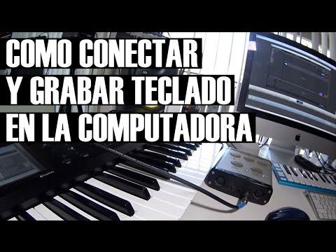 Como Conectar un Teclado MIDI a la Computadora - Como Grabar Teclados