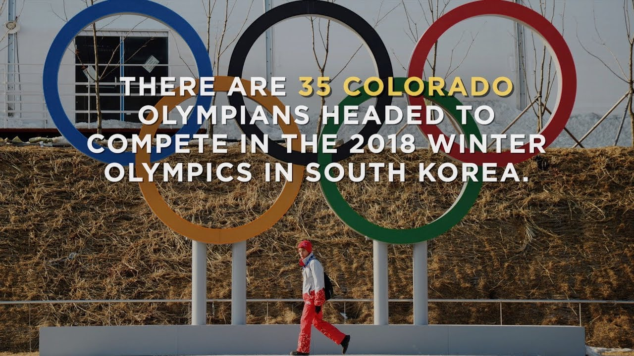 Colorado is sending 35 athletes to South Korea's Winter Olympics, more than any other state
