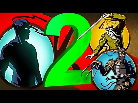 РЫСЬ ОТШЕЛЬНИК ПОБЕЖДЕН 2 мультик для детей игра Shadow Fight 2 бой с тенью видео для детей от FGTV