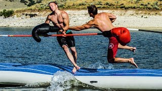 Jousting on Water with Shonduras!