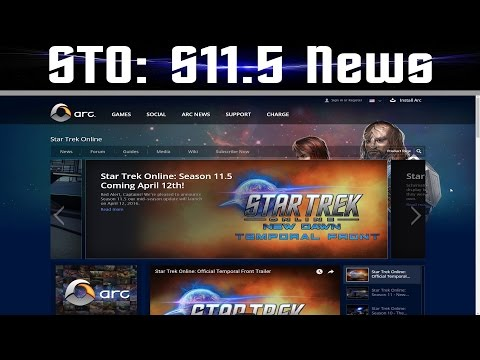 Star Trek Online News Season 11.5 - 4-10-2016