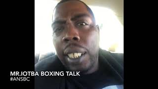 Ness from boxing voice lied & said he didn't say Errol Spence would only do 50,000 here's the proof