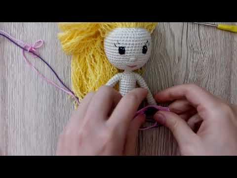Вязание крючком куклы амигуруми мастер класс 48