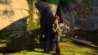 Astrid and Hiccup - I just want to feel this moment