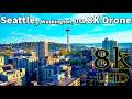 Seattle, Washington, USA in 8K UHD Drone