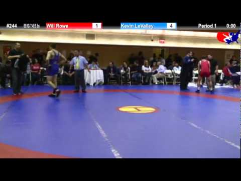 NYAC FS 66 KG / 145.5 lbs: Will Rowe vs. Kevin LeValley