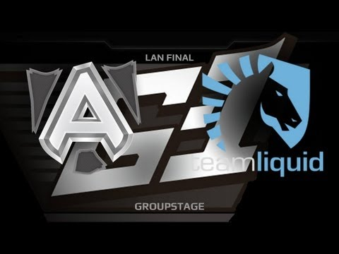 G1 League LAN Final  Groupstage  Alliance vs Liquid