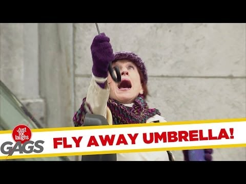 Fly Away Umbrella!