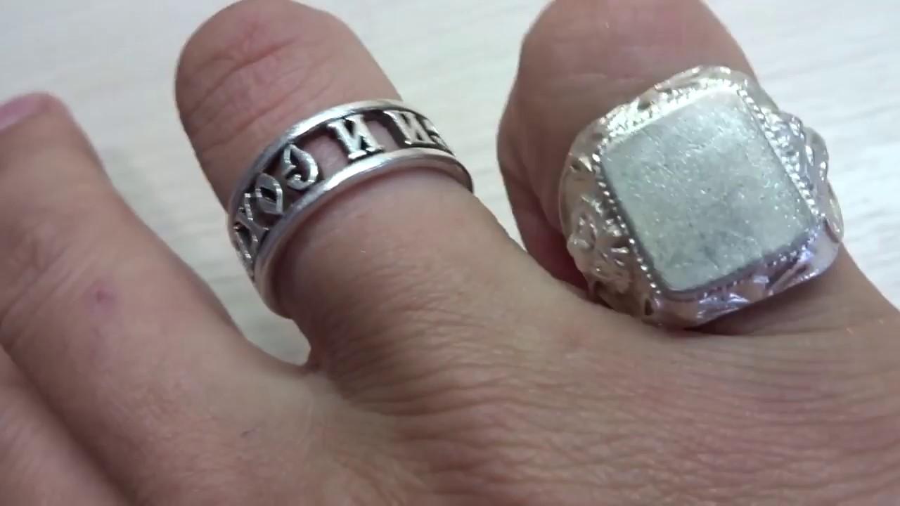 Как сделать печатку из серебра своими руками 86