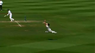 BEST CATCH OF ALL TIME! Trent Boult's Super Catch to Dismiss Sangakkara