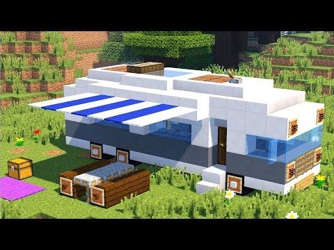 Minecraft - как построить Дом на Колёсах? (Bonus #18)