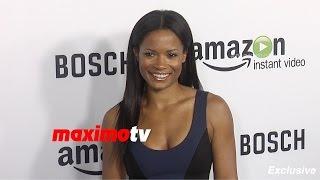 Rose Rollins | BOSCH Premiere | Red Carpet | Exclusive