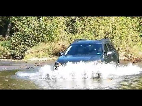 Can a Subaru Outback cross deep water?