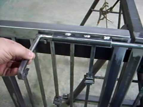 Sliding Gate Latch Youtube