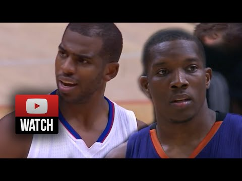 Chris Paul vs Eric Bledsoe EPIC PG Duel Highlights Clippers vs Suns (2014.10.22) - MUST WATCH!