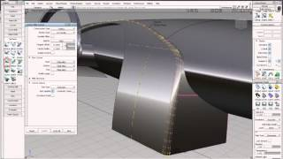 Alias Automotive 2014 Surface modeling & Class-A surfacing - Multi-Surface Fillet tool