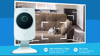 TP-LINK HD Cloud Camera with Night Vision (TL-NC250)