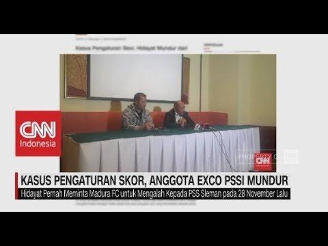 Kasus Pengaturan Skor, Anggota Exco PSSI Mundur
