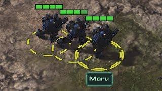 Constant Marine Splits! - Maru vs Impact - Starcraft 2