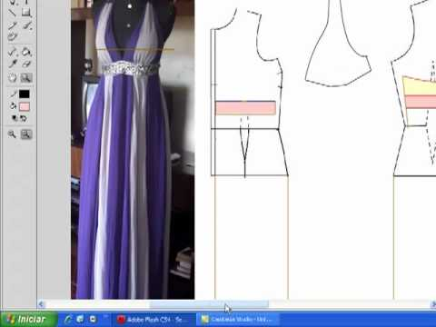 Vestido Com Nesgas - Aula de Modelagem