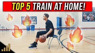 How to: Train for Basketball at Home! TOP 5 Drills You Can Do Alone!