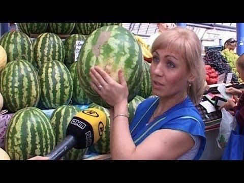 Как выбрать вкусный и спелый арбуз или дыню? Советы.