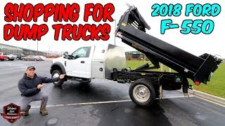 Brandon Goes Shopping For An F-550 Dump Truck ? But Will He Buy It? Truck Talk Tuesday!