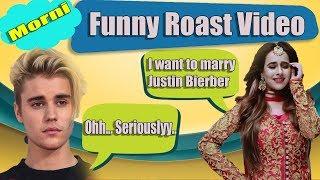 SUNANDA SHARMA | MORNI | Justin Bieber | Punjabi Roast Video | Aman Aujla