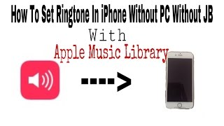 How To Make Your Own Ringtone on iPhone iOS 11 No