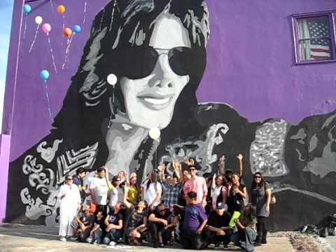 Graff Lab Michael Jackson Mural Homage To Hold My Hand