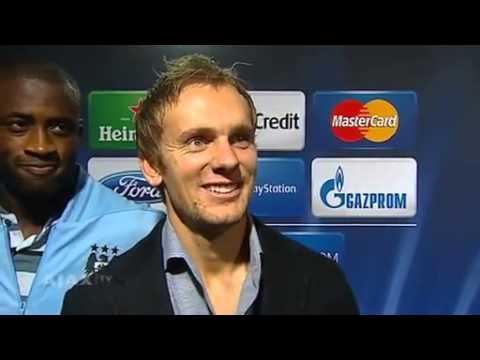 City vs Ajax - Siem de Jong and Yaya Touré interview