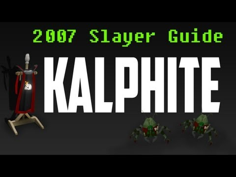 Kalphite – Old School Runescape [Slayer Guide]
