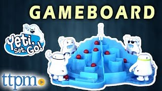 Yeti, Set, Go! Gameboard Review and Instructions | PlayMonster Toys & Games