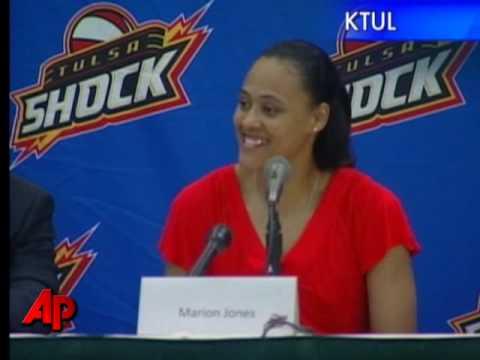 Marion Jones Signs With WNBA's Shock