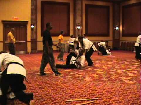 Master Samuel Scott demonstrates Combat Kuntao at the Chuck Norris Training Camp in Las Vegas Image 1