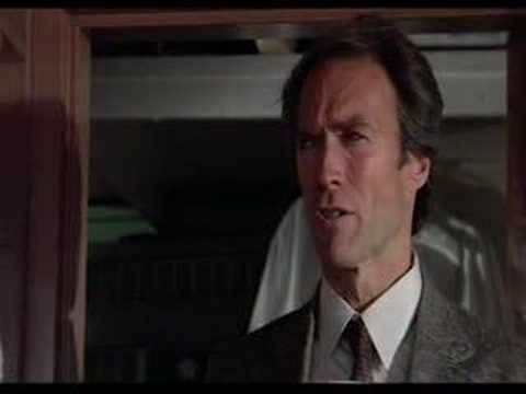 Clint Eastwood Sudden Impact Coffee Video