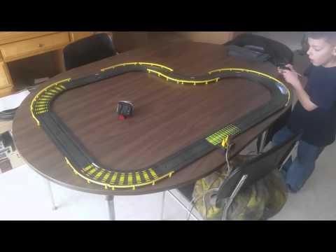 Slot Car Racing Jan 24th 2016 Tyco Track