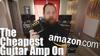 Download Lagu The Cheapest: Guitar Amp On Amazon Gratis STAFABAND